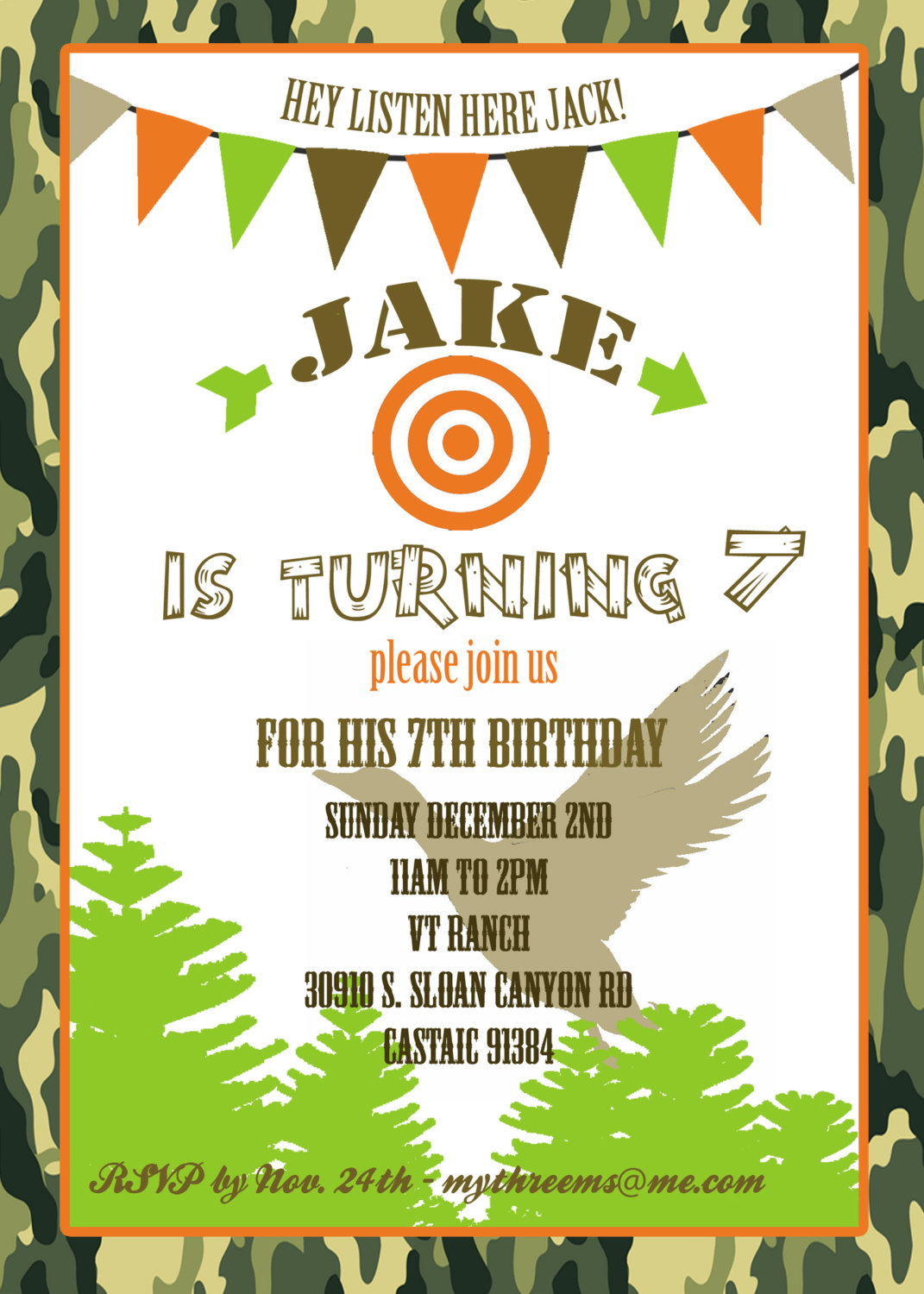 Duck dynasty invitation duck hunting party invitation birthday duck dynasty invitation duck hunting party invitation birthday invitation printable digital file or printed invitations outdoor party filmwisefo